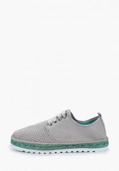 Эспадрильи, El Tempo, цвет: серый. Артикул: EL072AWIQDU6. Обувь / Эспадрильи