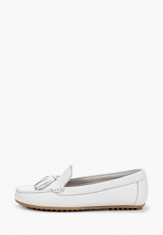 Мокасины, El Tempo, цвет: белый. Артикул: EL072AWIQDW9. Обувь / Мокасины и топсайдеры