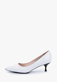 Туфли, El Tempo, цвет: белый. Артикул: EL072AWIQED3. Обувь / Туфли / Лодочки