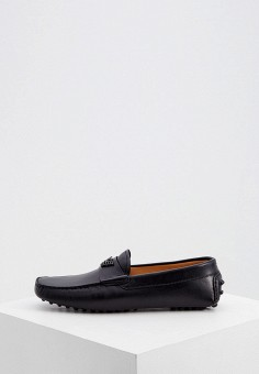 Мокасины, Emporio Armani, цвет: черный. Артикул: EM598AMKFQY6. Обувь / Мокасины и топсайдеры