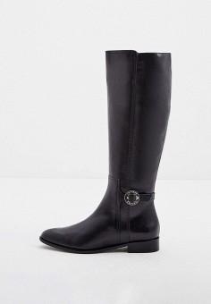 Сапоги, Emporio Armani, цвет: черный. Артикул: EM598AWJYDG8. Обувь / Сапоги / Сапоги