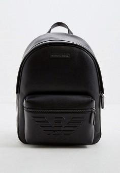 Рюкзак, Emporio Armani, цвет: черный. Артикул: EM598BMFOWR3. Аксессуары / Рюкзаки