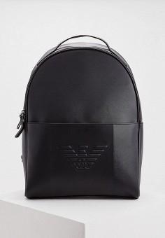 Рюкзак, Emporio Armani, цвет: черный. Артикул: EM598BMFOWS1. Аксессуары / Рюкзаки