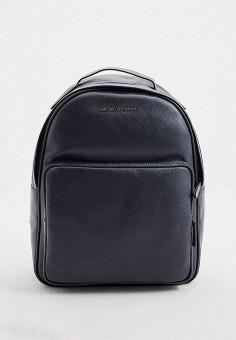 Рюкзак, Emporio Armani, цвет: синий. Артикул: EM598BMHNDQ0. Аксессуары / Рюкзаки