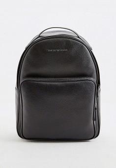 Рюкзак, Emporio Armani, цвет: черный. Артикул: EM598BMHNDQ1. Аксессуары / Рюкзаки