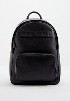 Рюкзак, Emporio Armani, цвет: черный. Артикул: EM598BMJUQM0. Аксессуары / Рюкзаки