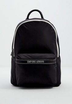 Рюкзак, Emporio Armani, цвет: черный. Артикул: EM598BMJUQM7. Аксессуары / Рюкзаки