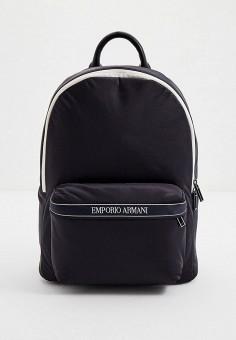 Рюкзак, Emporio Armani, цвет: синий. Артикул: EM598BMJUQM8. Аксессуары / Рюкзаки