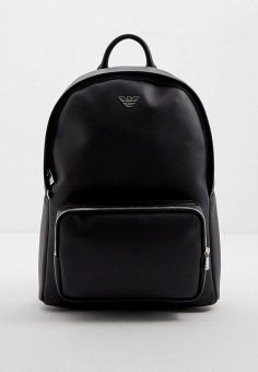 Рюкзак, Emporio Armani, цвет: черный. Артикул: EM598BMJYDG9. Аксессуары / Рюкзаки