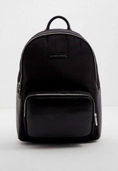 Рюкзак, Emporio Armani, цвет: черный. Артикул: EM598BMJYDH1. Аксессуары / Рюкзаки