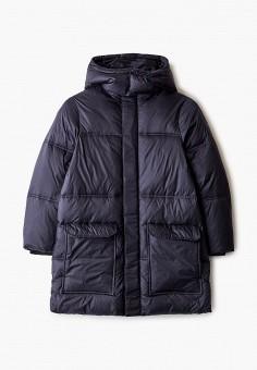 Куртка утепленная, Emporio Armani, цвет: синий. Артикул: EM598EBJUQB0. Мальчикам / Одежда / Верхняя одежда