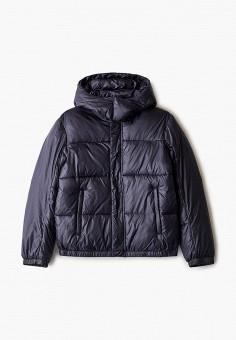 Куртка утепленная, Emporio Armani, цвет: синий. Артикул: EM598EBJUQB1. Мальчикам / Одежда / Верхняя одежда