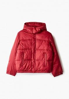 Куртка утепленная, Emporio Armani, цвет: синий. Артикул: EM598EBJUQB2. Мальчикам / Одежда / Верхняя одежда
