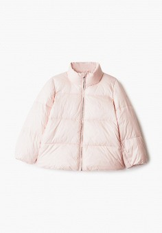 Куртка утепленная, Emporio Armani, цвет: розовый. Артикул: EM598EGJUQD2. Девочкам / Одежда