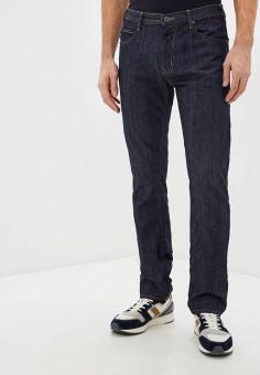 Джинсы, Emporio Armani, цвет: синий. Артикул: EM598EMHNFG0. Одежда / Джинсы / Зауженные джинсы