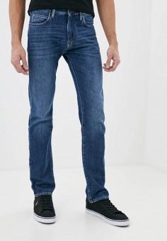 Джинсы, Emporio Armani, цвет: синий. Артикул: EM598EMHNFG5. Одежда / Джинсы / Зауженные джинсы
