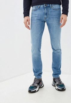 Джинсы, Emporio Armani, цвет: голубой. Артикул: EM598EMHNFG6. Одежда / Джинсы