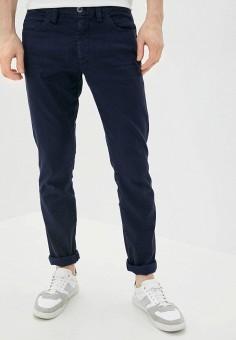 Брюки, Emporio Armani, цвет: синий. Артикул: EM598EMHNFL1. Одежда / Брюки / Повседневные брюки
