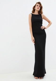 Платье, Emporio Armani, цвет: черный. Артикул: EM598EWFWJE3. Одежда / Платья и сарафаны / Вечерние платья