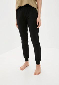 Брюки домашние, Emporio Armani, цвет: черный. Артикул: EM598EWHXQA5. Одежда / Домашняя одежда