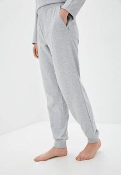 Брюки домашние, Emporio Armani, цвет: серый. Артикул: EM598EWHXQA6. Одежда / Домашняя одежда