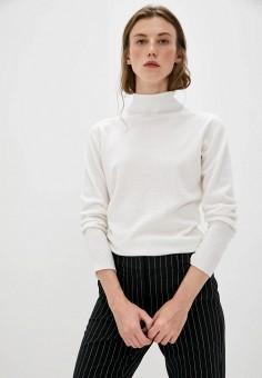 Водолазка, Emporio Armani, цвет: белый. Артикул: EM598EWJURY4. Одежда / Джемперы, свитеры и кардиганы / Водолазки