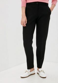 Брюки, Emporio Armani, цвет: черный. Артикул: EM598EWJURZ1. Одежда / Брюки / Классические брюки