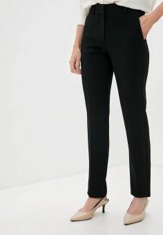 Брюки, Emporio Armani, цвет: черный. Артикул: EM598EWJURZ4. Одежда / Брюки / Классические брюки