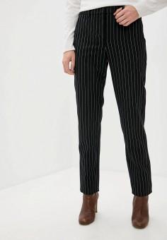 Брюки, Emporio Armani, цвет: черный. Артикул: EM598EWJURZ5. Одежда / Брюки / Классические брюки