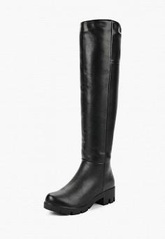 Ботфорты, Enjoin', цвет: черный. Артикул: EN009AWCAKO7. Обувь / Сапоги / Ботфорты