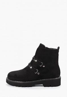 Ботинки, Enjoin', цвет: черный. Артикул: EN009AWFXKH2. Обувь / Ботинки / Высокие ботинки