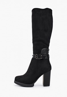 Сапоги, Enjoin', цвет: черный. Артикул: EN009AWFXKI3. Обувь / Сапоги / Сапоги