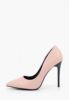 Туфли, Enjoin', цвет: розовый. Артикул: EN009AWIETE6. Обувь / Туфли / Лодочки
