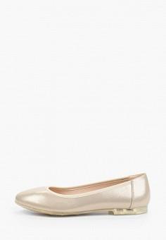 Балетки, Enjoin', цвет: золотой. Артикул: EN009AWIETF7. Обувь / Балетки