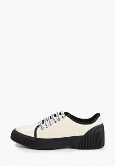 Ботинки, Enjoin', цвет: белый. Артикул: EN009AWIETH2. Обувь / Ботинки / Низкие ботинки