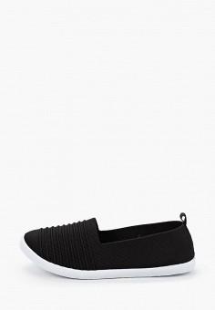 Слипоны, Enjoin', цвет: черный. Артикул: EN009AWIETI2. Обувь / Слипоны
