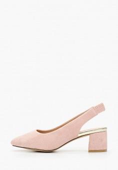 Туфли, Enjoin', цвет: розовый. Артикул: EN009AWIETI7. Обувь / Туфли