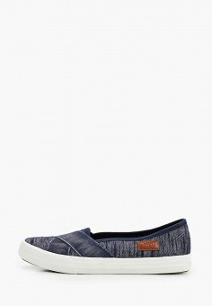 Слипоны, Enjoin', цвет: синий. Артикул: EN009AWIETJ8. Обувь / Слипоны