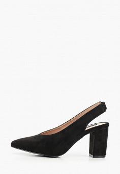 Туфли, Enjoin', цвет: черный. Артикул: EN009AWIETL1. Обувь / Туфли