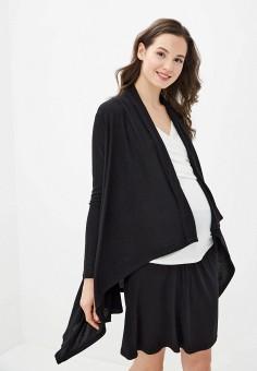 Кардиган, Envie de Fraise, цвет: черный. Артикул: EN012EWILST7. Одежда / Одежда для беременных