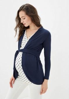 Кардиган, Envie de Fraise, цвет: синий. Артикул: EN012EWILST9. Одежда / Одежда для беременных