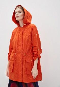 Плащ, Escada Sport, цвет: оранжевый. Артикул: ES006EWIJYY6. Одежда / Верхняя одежда / Плащи и тренчи