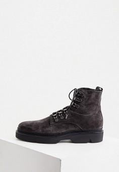 Ботинки, Etro, цвет: черный. Артикул: ET002AMKKMI1. Обувь / Ботинки