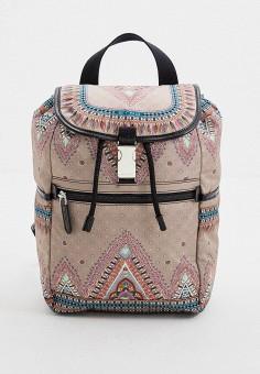 Рюкзак, Etro, цвет: бежевый. Артикул: ET002BWHYXS3. Аксессуары / Рюкзаки