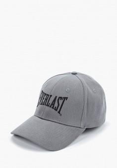 Бейсболка, Everlast, цвет: серый. Артикул: EV001CUFMQP2. Аксессуары / Головные уборы