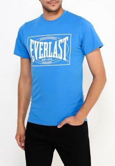 Футболка, Everlast, цвет: голубой. Артикул: EV001EMUZD62. Одежда / Футболки и поло