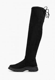 Ботфорты, Evita, цвет: черный. Артикул: EV002AWGMSZ9. Обувь / Сапоги / Ботфорты