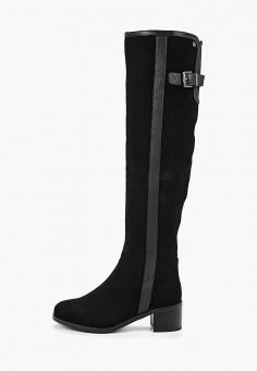 Ботфорты, Evita, цвет: черный. Артикул: EV002AWGMTA1. Обувь / Сапоги / Ботфорты