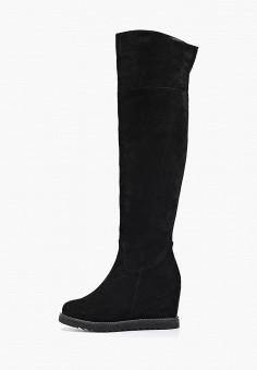Ботфорты, Evita, цвет: черный. Артикул: EV002AWGMTA4. Обувь / Сапоги / Ботфорты