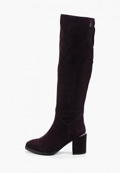 Ботфорты, Evita, цвет: фиолетовый. Артикул: EV002AWGMTA7. Обувь / Сапоги